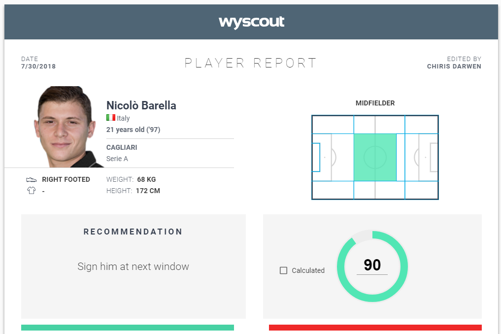 Nicolo Barella Liverpool Player Analysis