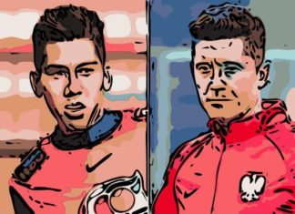 Firmino Lewandowski Liverpool Bayern Munich Champions League Tactical Player Analysis Statistics